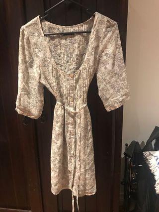 Dotti flower dress size 10