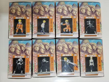 火影忍者(未開盒) (一套8款)