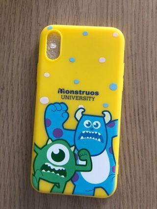 Monster university softcase iphone X