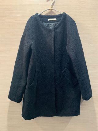 🚚 #便宜出清⚠️#落肩暗扣毛呢大衣#半價衣服拍賣會#