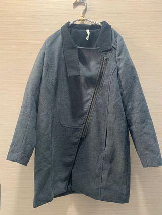 🚚 #便宜出清⚠️#鐵灰色毛呢外套#半價衣服拍賣會#