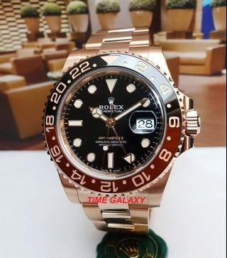Rolex GMT Master II Rootbeer Solid Golf