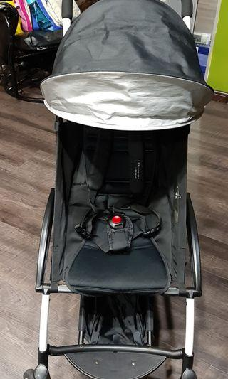 Preloved Kiddopotamus Compact Stroller Black
