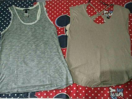 Baju atasan merk manggo take all,freeong