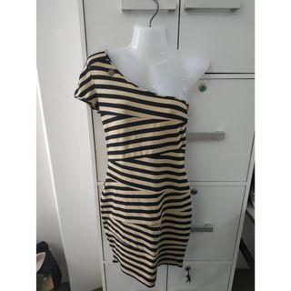 Dress Stripe Pattern Women