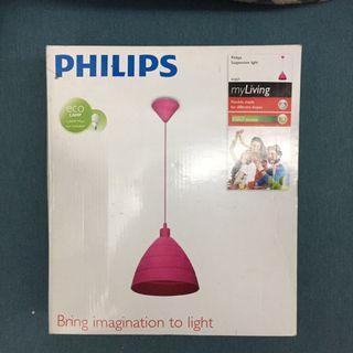 Philips Suspension Light/ Drop Light in Pink