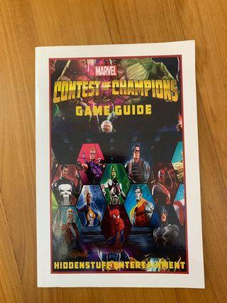 MARVEL GAME GUIDE