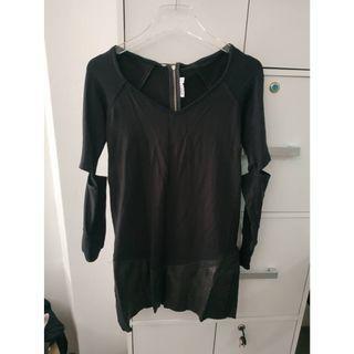 Aiko Black Long Shirt