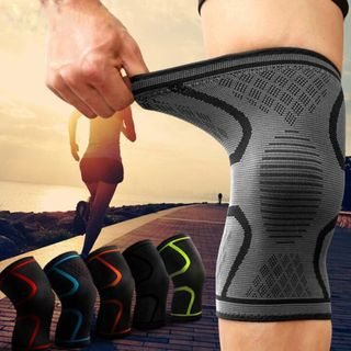 aacf506e7  NEW  Sport Breathable Knee Guard Protector Support Brace Pad Single