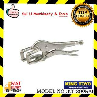 "KING TOYO KT-309RAI Locking Welding Clamp 11"" 270mm"