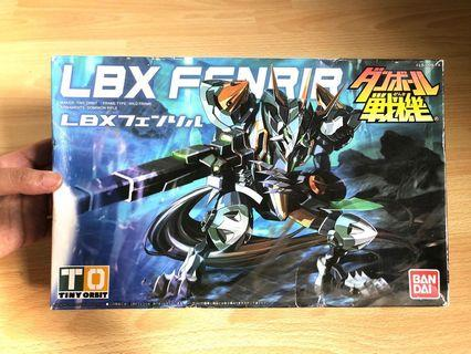 BANDAI LBX 012 紙箱戰機模型 玩具 全新 小朋友禮物
