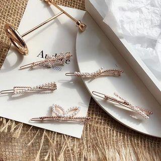 Korean Pearl hairpins