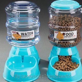 Pet feeder pet water dispenser