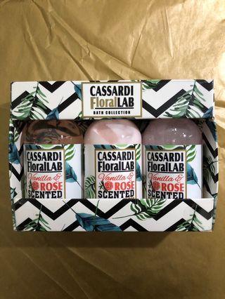 Cassardi Floral Lab Bath Collection