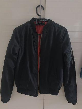 New Look Black/Orange Bomber Jacket