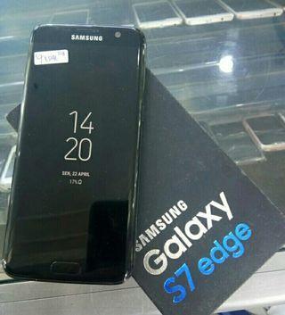 Samsung S7 EDGE 128gb Black Sein Istimewa fullset ori