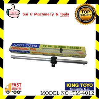 KING TOYO TM-4012 DR. Sliding T-Handle 1/2""