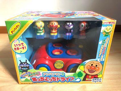 麵包超人 BB車車形狀學習玩具  絕版罕有 baby toy toys