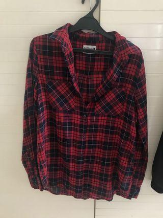 Cotton On Red Flannel