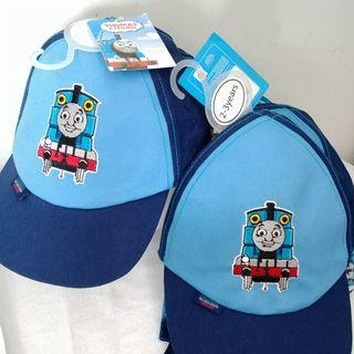 (1-2/2-3yrs) Thomas 火車 出口歐洲 可爱兒童男BB嬰兒兒帽仔 沙灘防曬護頸 太陽帽 kids baby cap