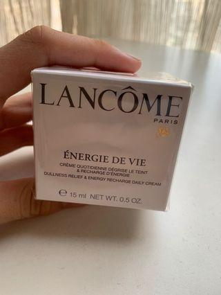 Lancôme Energie De Vie面霜