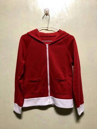 🚚 紅白配色外套