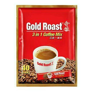 🚚 Gold Roast Coffee 3-in-1 Mixture