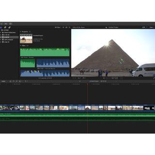 Editing video services (final cut pro x)