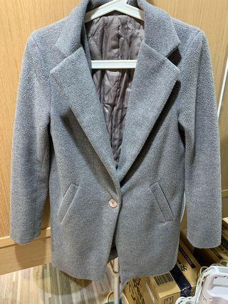 🚚 韓國🇰🇷購入 灰色大衣外套