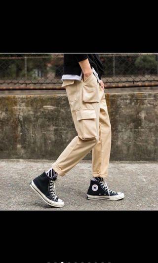 多口袋 工裝褲