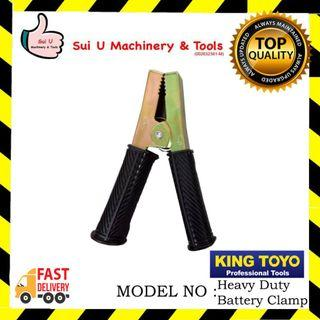 KINGTOYO  Heavy Duty Battery Clamp  500amp 16cm