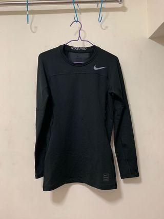 Nike pro long shirt 緊身衫 運動衫