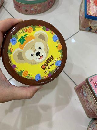 🚚 ❤️日本🇯🇵東京迪士尼海洋絕版達菲熊🐻鐵盒