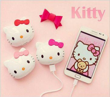 🚚 8000mA Hello Kitty Cartoon Powerbank Mobile Charger