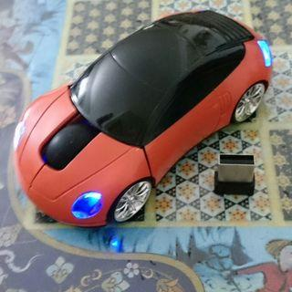 Wireless Automatic Saving Power LED Mouse