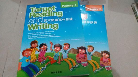 P.1 & P.2 Target reading and writing