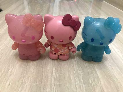 All Hello kitty Figures 全圖3隻