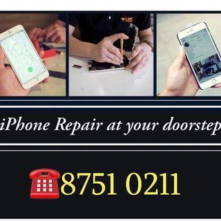 24/7 iPhone LCD Repair,  iPhone Battery Repair Doorstep