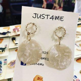 韓式珍珠耳環
