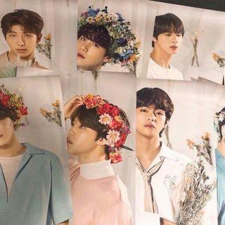 READY COD BTS LOVE YOURSELF TOUR POSTER