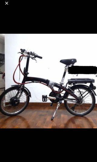 Foldable Electric Bicycle E-Bike Tornado Alfa LTA Tagged (Not Road Bike or Mountain Bike)