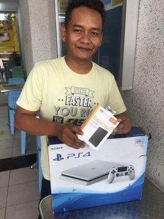 PS4 50 GAMES FREE EXT HDD 1.5TB