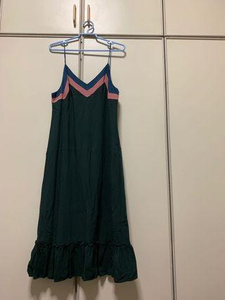 Love Bonito - Green Midi Dress