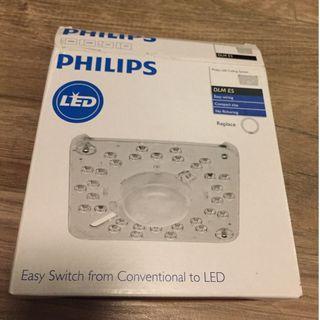Philips 飛利浦 LED燈板 14.8W 黃光 3000K 吸頂燈改造燈板(替換環形燈管)