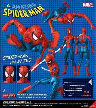 [Coming Soon] Mafex Spiderman Spider Man