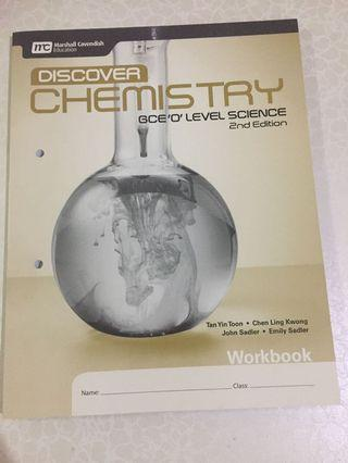 Discover Chemistry workbook O level New!