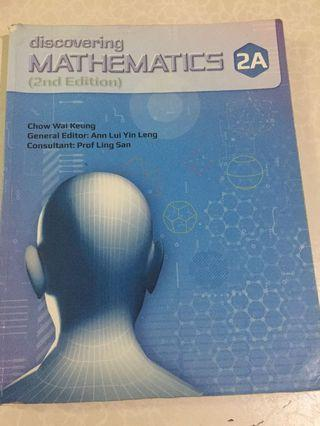 Sec 2 Maths Textbook 2A&2B