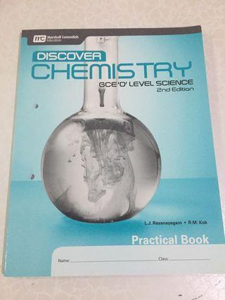 🚚 Discover Chemistry practical book O level