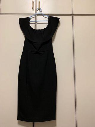 🚚 Off Shoulder Midi Dress