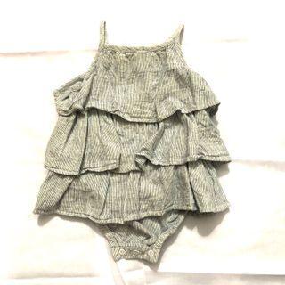 H&M ruffles cotton bodysuit